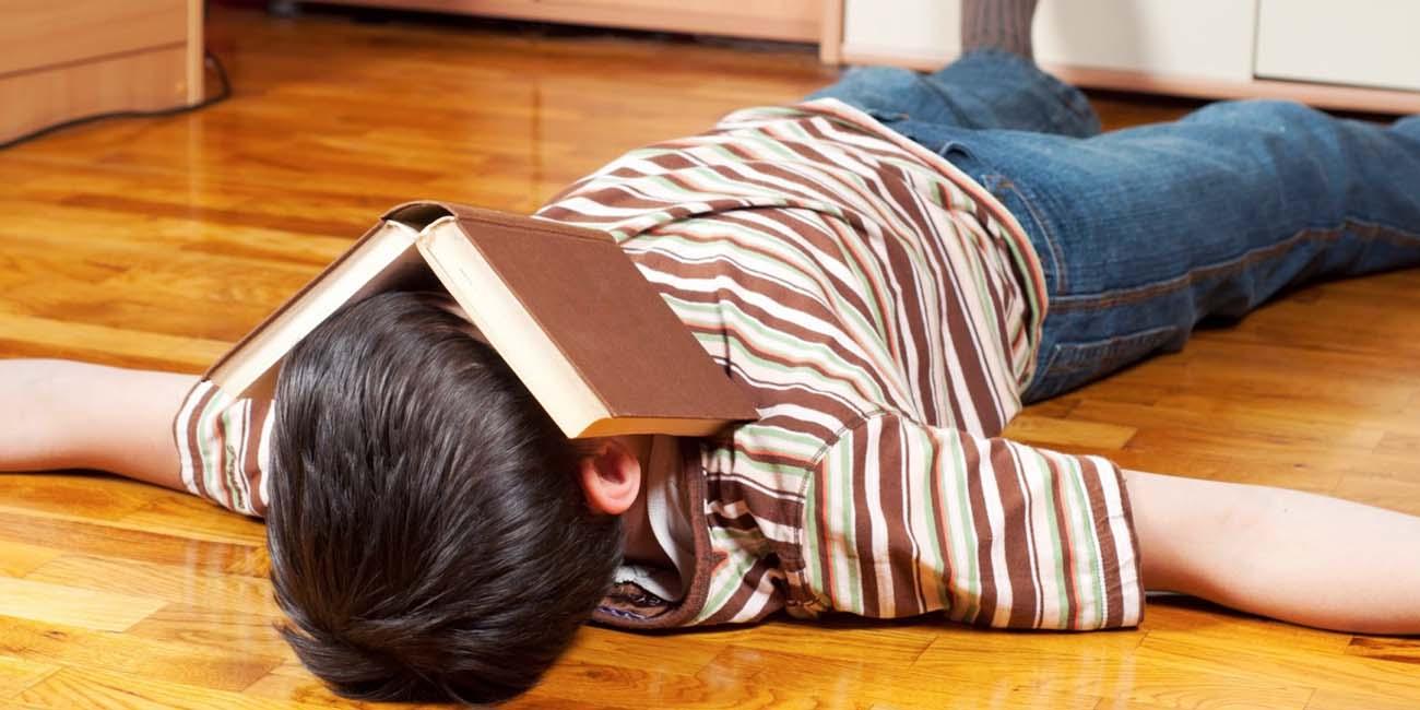 Когда ребенок ленится