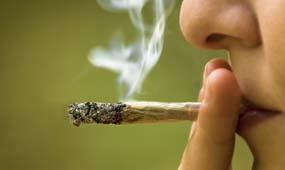 Курение гашиша