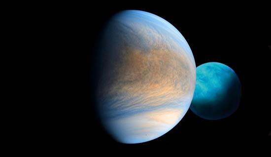 Соединение Венеры с Ураном